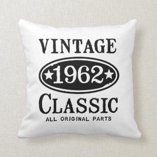 Obra clásica 1962 del vintage cojín decorativo