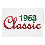 Obra clásica 1963 tarjetas