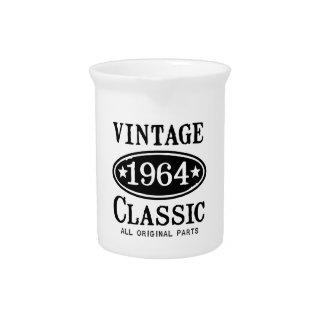 Obra clásica 1964 del vintage jarrones