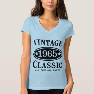 Obra clásica 1965 del vintage poleras