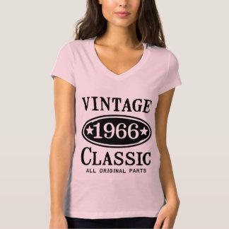 Obra clásica 1966 del vintage playera