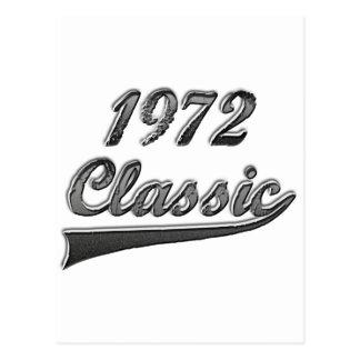 Obra clásica 1972 postal