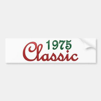 Obra clásica 1975 pegatina para auto