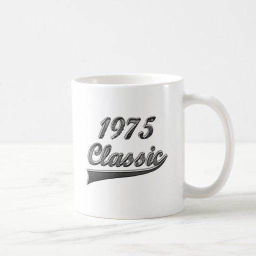 Obra clásica 1975 taza de café