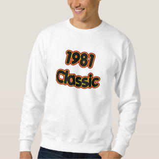 Obra clásica 1981 sudadera