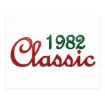 Obra clásica 1982 tarjeta postal
