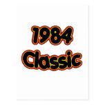 Obra clásica 1984 postal