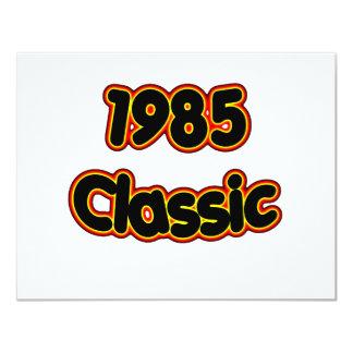 """Obra clásica 1985 invitación 4.25"""" x 5.5"""""""