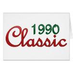 Obra clásica 1990 felicitación