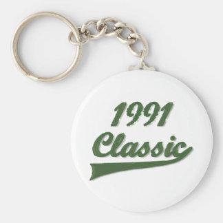 Obra clásica 1991 llavero personalizado