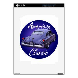 Obra clásica americana Cadillac 1949 Calcomanías Para El iPad 2
