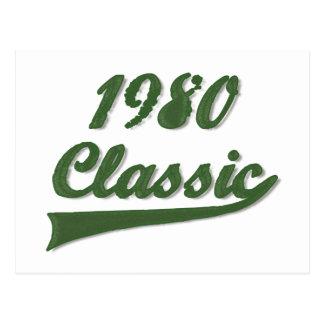Obra clásica an o 80 postal