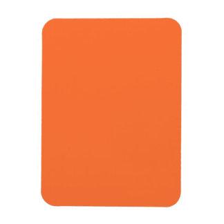 Obra clásica anaranjada coloreada imanes flexibles