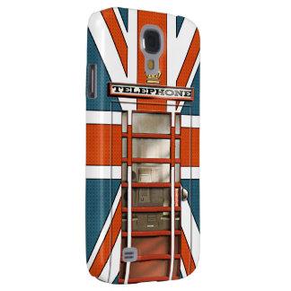 Obra clásica británica divertida Phonebox de la ba Funda Para Galaxy S4
