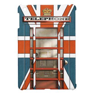Obra clásica británica divertida Phonebox de la ba iPad Mini Cobertura