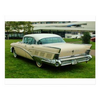Obra clásica Buick Limited 1958. Postal