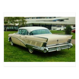 Obra clásica Buick Limited 1958. Postales