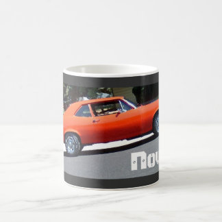Obra clásica Chevy 1972 Nova - taza del arte de