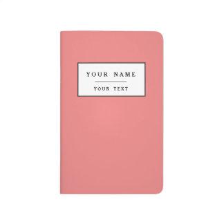 Obra clásica coralina ligera coloreada cuaderno
