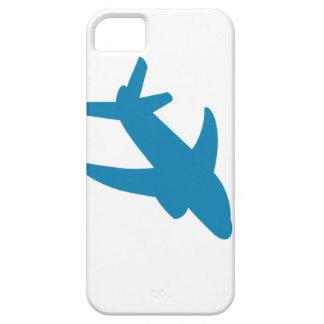 Obra clásica de Airplaine Silhoutte iPhone 5 Case-Mate Cobertura