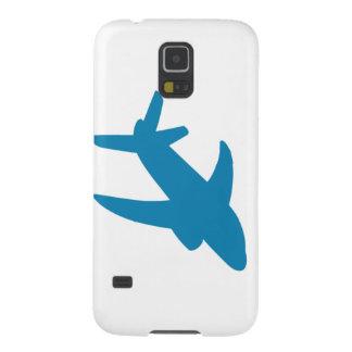 Obra clásica de Airplaine Silhoutte Carcasas Para Galaxy S5