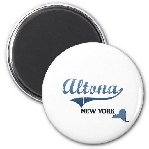 Obra clásica de Altona New York City Iman De Nevera