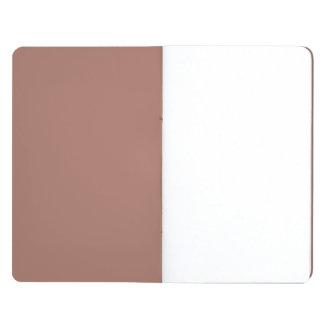 Obra clásica de bronce coloreada cuaderno