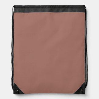 Obra clásica de bronce coloreada mochilas