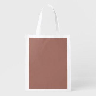 Obra clásica de bronce coloreada bolsa reutilizable