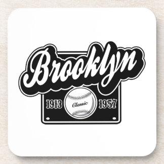 Obra clásica de Brooklyn Posavasos De Bebida