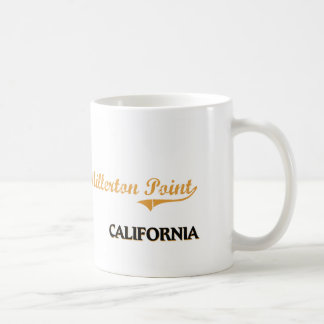 Obra clásica de California del punto de Millerton Tazas De Café