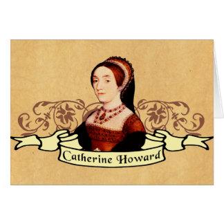 Obra clásica de Catherine Howard Tarjeta De Felicitación