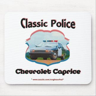 Obra clásica de Chevrolet Caprice del coche policí Alfombrillas De Ratón
