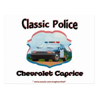 Obra clásica de Chevrolet Caprice del coche Postal