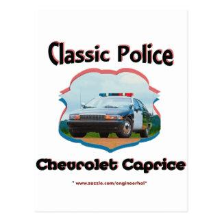 Obra clásica de Chevrolet Caprice del coche Tarjeta Postal