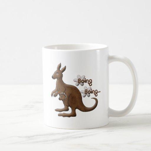 Obra clásica de Coffee_Mug_Kangaroo_Boing Taza