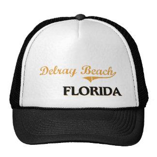 Obra clásica de Delray Beach la Florida Gorros