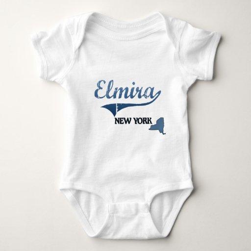 Obra clásica de Elmira New York City Playera