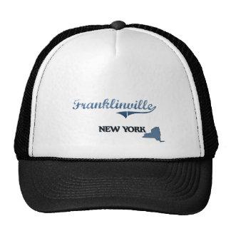Obra clásica de Franklinville New York City Gorro De Camionero
