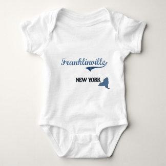 Obra clásica de Franklinville New York City T-shirt
