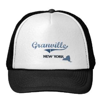 Obra clásica de Granville New York City Gorro De Camionero