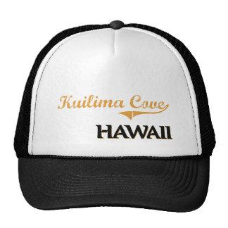 Obra clásica de Hawaii de la ensenada de Kuilima Gorras