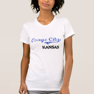 Obra clásica de Kansas City de la ciudad de Osage Camisetas