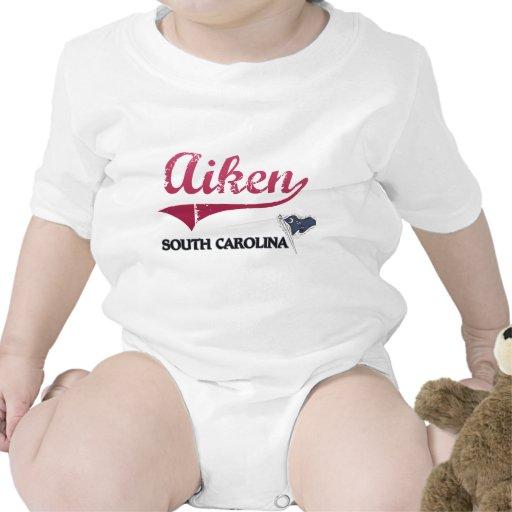 Obra clásica de la ciudad de Aiken Carolina del Trajes De Bebé