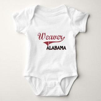 Obra clásica de la ciudad de Alabama del tejedor Playeras