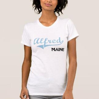 Obra clásica de la ciudad de Alfred Maine Camisetas