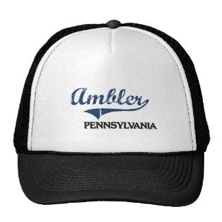 Obra clásica de la ciudad de Ambler Pennsylvania Gorra