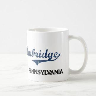 Obra clásica de la ciudad de Ambridge Pennsylvania Taza Clásica