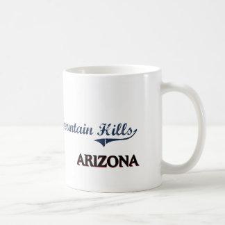 Obra clásica de la ciudad de Arizona de las Taza Básica Blanca