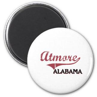 Obra clásica de la ciudad de Atmore Alabama Imán Para Frigorífico